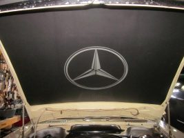 Mercedes R107 SL Class Hood Pad